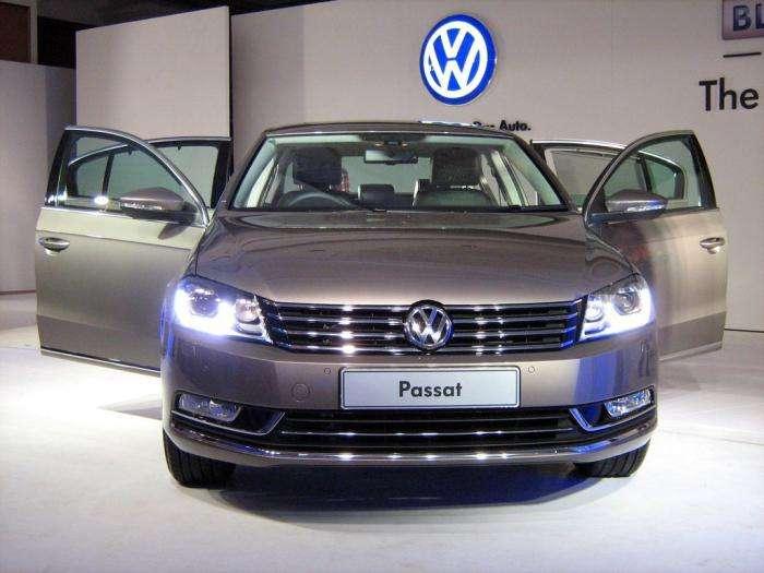 Volkswagen Passat B8: версия 2015 года