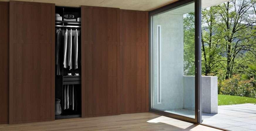 Встроенный шкаф-купе в прихожую: фото дизайна, размеры, наполнение