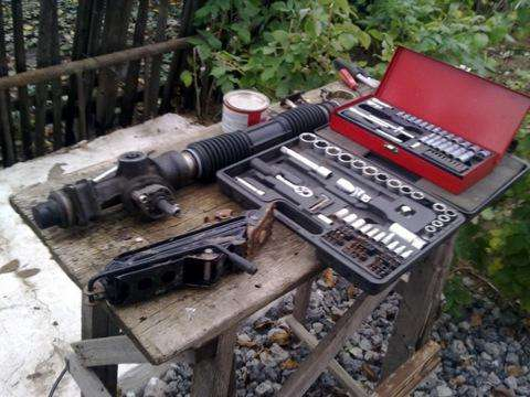 """Рейка рулевая, """"Калина"""": ремонт, подтяжка своими руками"""