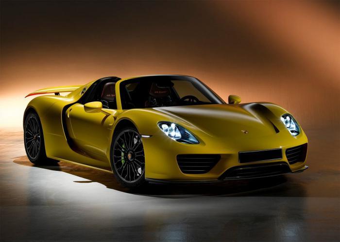 Краткий обзор автомобиля Porsche 918 Spyder
