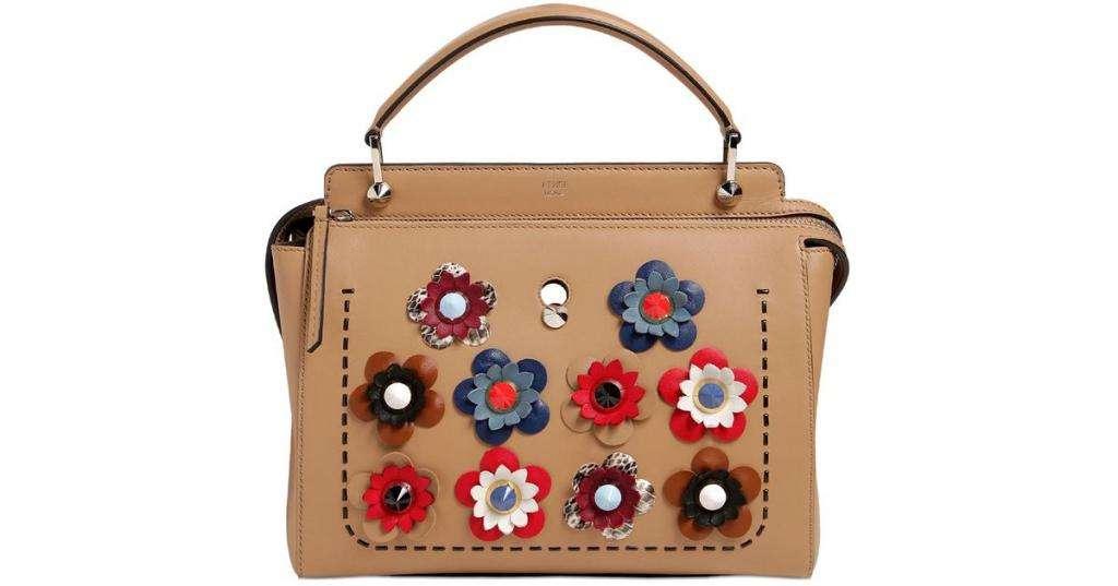 Модные сумки из кожи с аппликациями