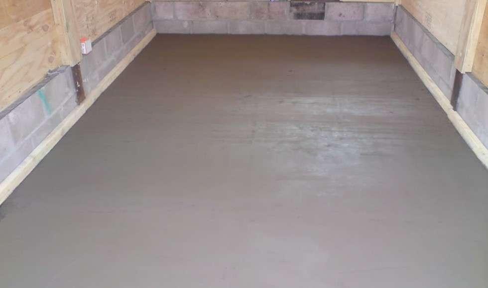 Цементно-песчаная стяжка пола: устройство, минимальная толщина, расход материалов