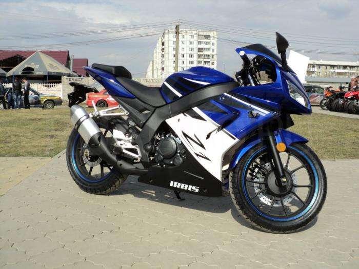 Мотоцикл Irbis Z1: технические характеристики и отзывы (фото)