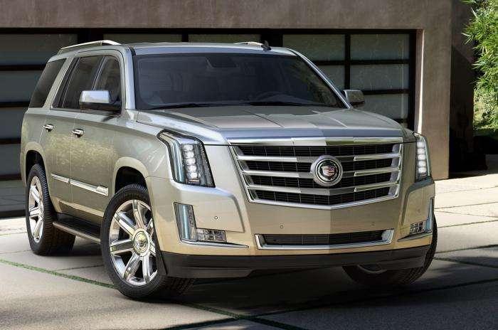 Обзор автомобиля «Cadillac Escalade» 2015 модельного года