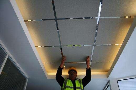 Навесные потолки своими руками: основные типы и характеристики