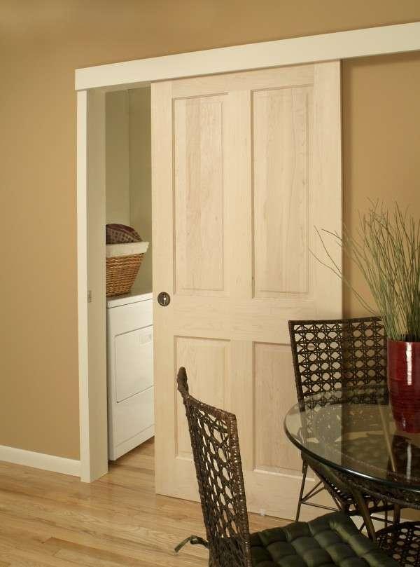 Как сделать и установить раздвижные межкомнатные двери своими руками