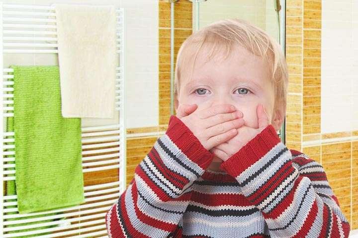 Отрыжка у ребенка 3 лет: причины и лечение