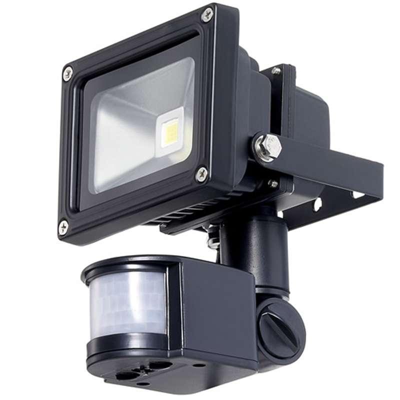 Led светильник с датчиком движения: особенности, область применения