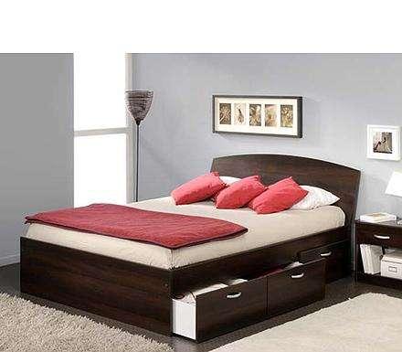 Кровати с ящиками: эстетично и практично