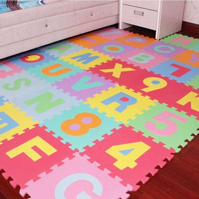 Напольная мозаика для детей. Как выбрать? Польза от занятий и разновидности