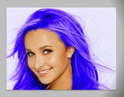Как поменять цвет волос в «Фотошопе»: инструкция для новичков