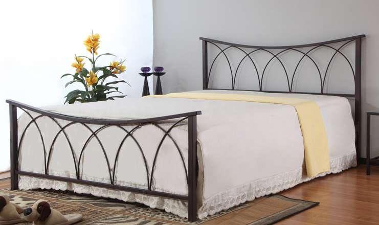 Металлическая кровать: рекомендации по выбору и фото