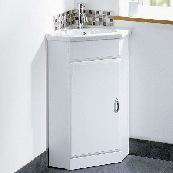Мебель для ванной комнаты угловая - отличное решение для маленьких помещений