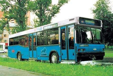 Автобус МАЗ 103, 105, 107, 256: технические характеристики моделей