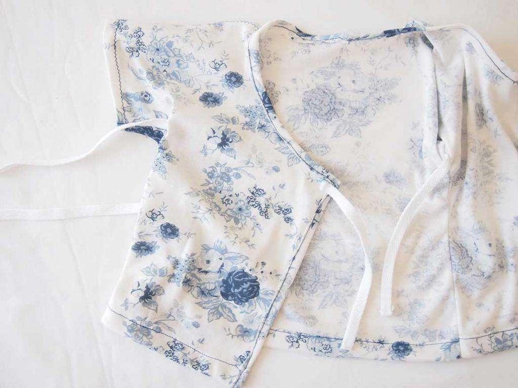 Распашонки для новорожденного: размеры, выбор ткани, выкройки и советы по шитью