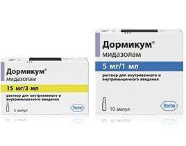"""Анксиолитический и седативный препарат """"Дормикум"""": инструкция по использованию"""