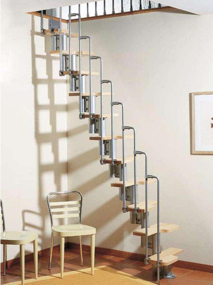Модульные лестницы: обзор конструкций и особенности монтажа