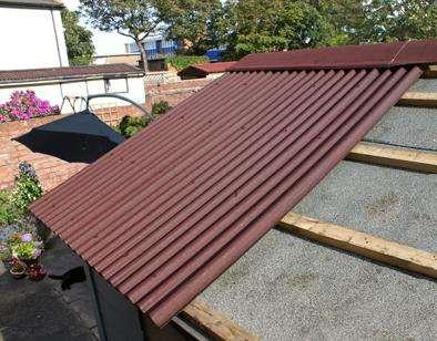 Как покрыть крышу ондулином: нюансы процесса