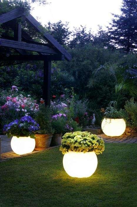 Светильник на солнечной батарее - украшение вашего сада